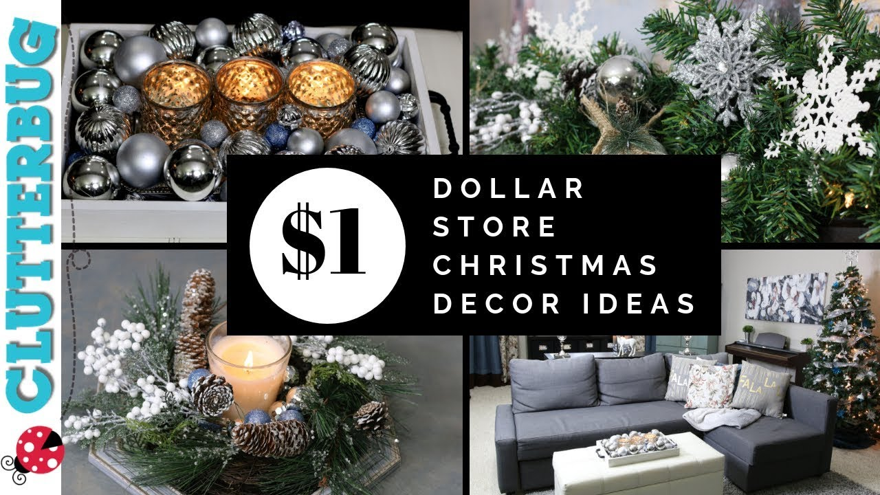 Home Scenery Dollar Store Christmas Decor Ideas Quick And