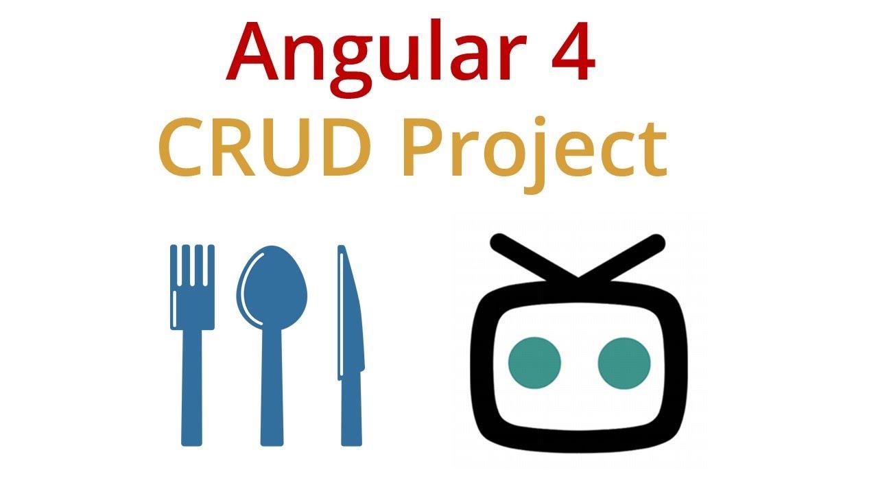 Angular 4 Crud Example App Youtube