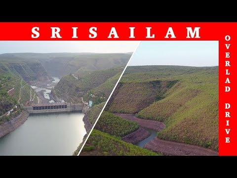 Srisailam Dam Aerial View (Bird's View)