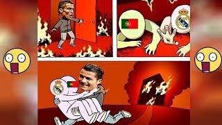 Funny Memes on Messi Vs Ronaldo | Funny Club