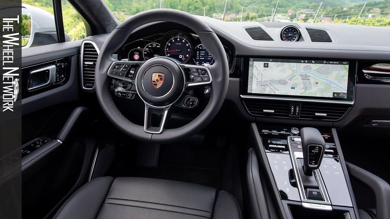 2020 Porsche Cayenne Coupe Interior Youtube