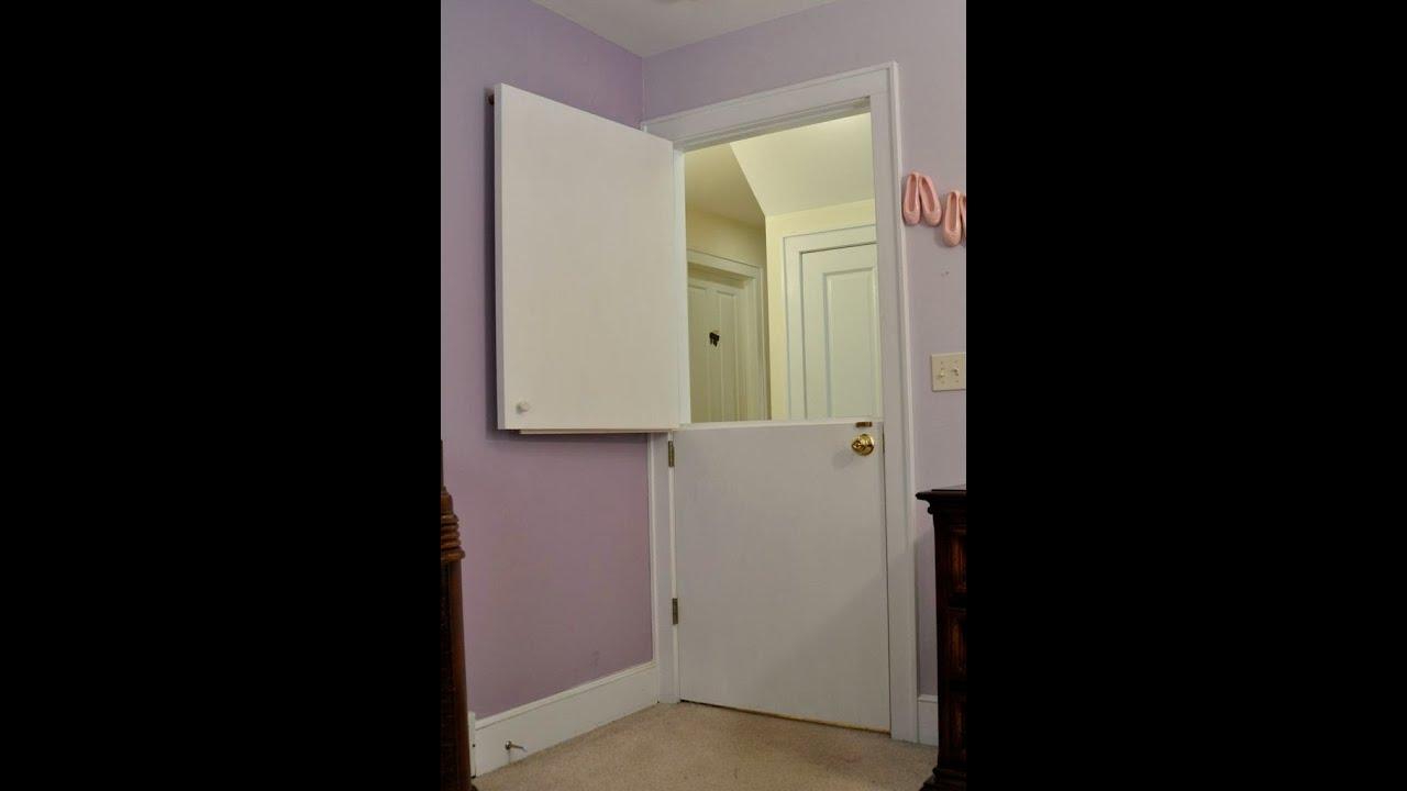 Interior Dutch Door- Interior Dutch Door For Sale - YouTube