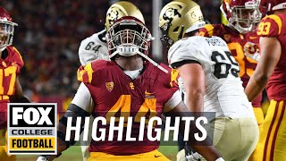 USC vs. Colorado | FOX COLLEGE FOOTBALL HIGHLIGHTS