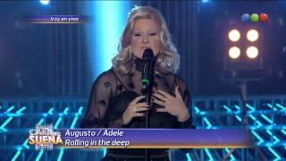 Tu cara me suena Augusto Schuster es Adele HD