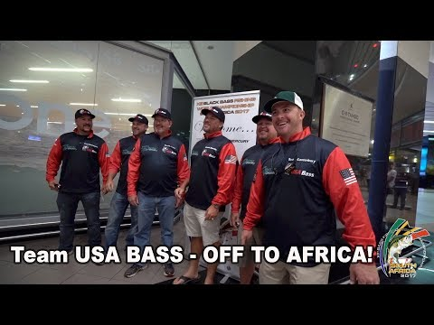 We're off to SOUTH AFRICA for the World Championship - Team USA BASS