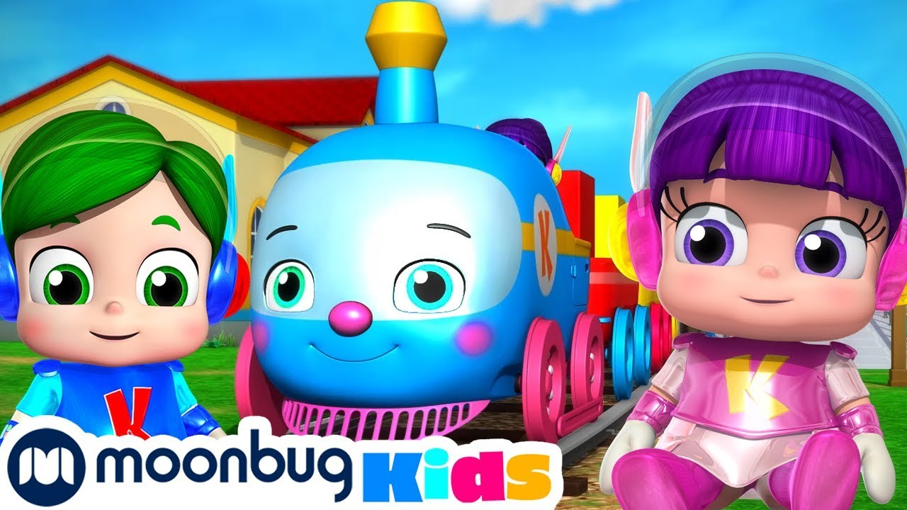 Download Learn Colors With Kiyi trains   Chuu Chuu   Trains for Children   Train Song   Moonbug for Kids