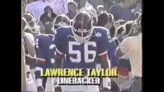 New York Giants Introduction Super Bowl 21
