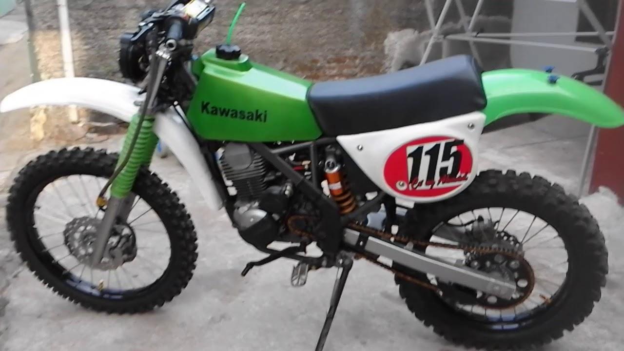 Kawasaki Klx Klasik Kabisamx Trailshop Aa Uwen Bandung