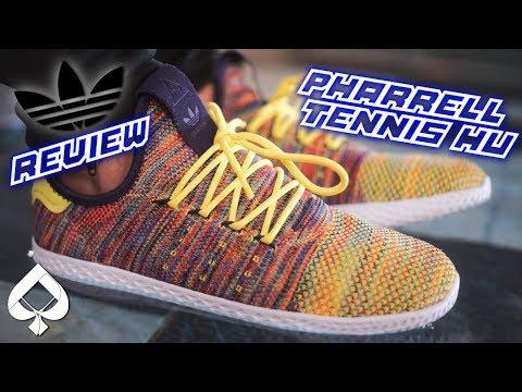 adidas pharrell tennis hu (multicolore) recensione su youtube