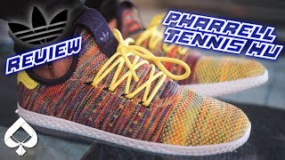 ADIDAS PHARRELL TENNIS HU (MULTICOLOR) REVIEW