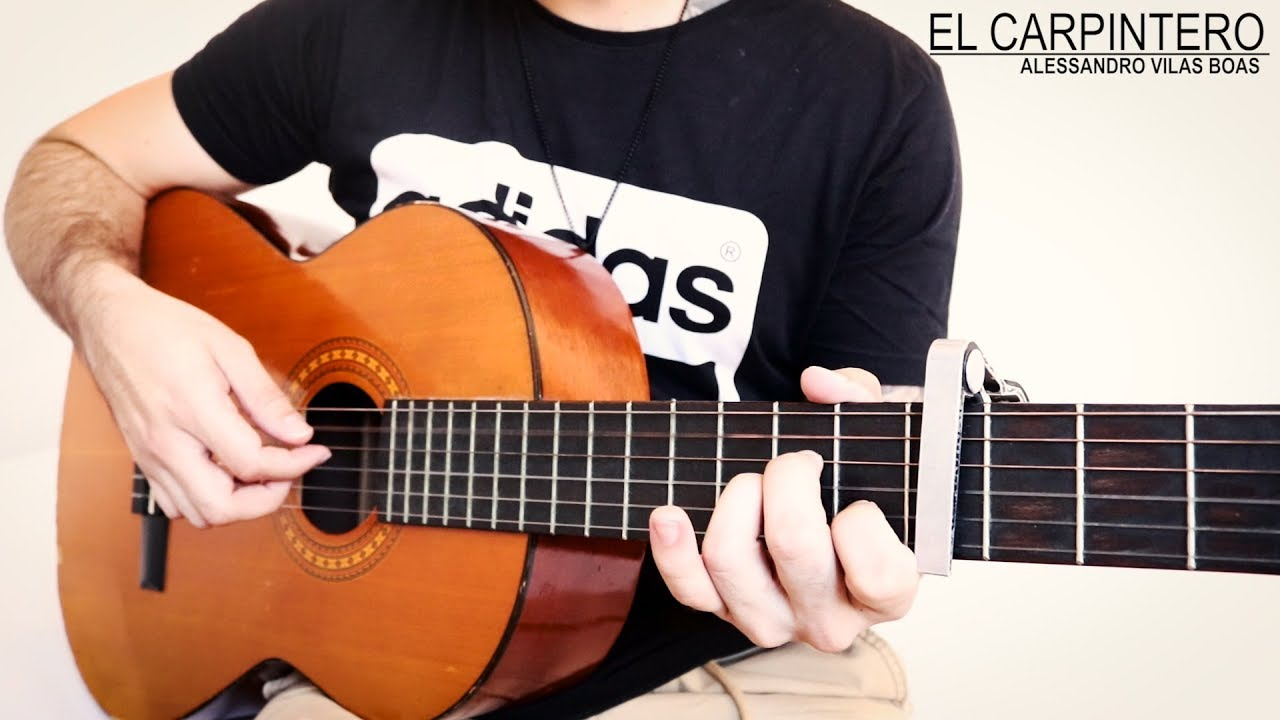 El Carpintero - Alessandro Vilas Boas O Carpinteiro cover con acordes