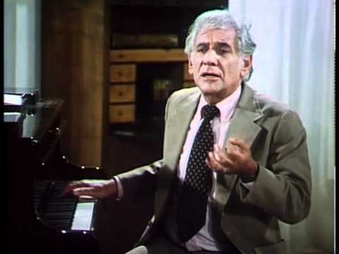 Leonard Bernstein Discusses Beethoven's 4th Symphony