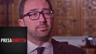 Riccardo Iacona intervista il Ministro della Giustizia Alfonso Bonafede - Presadiretta 14/01/2019