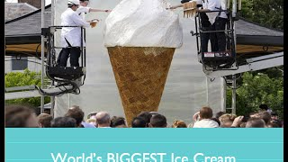 World's BIGGEST Ice Cream