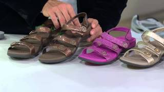 b7e37154f Vionic w  Orthaheel Adj. Triple Strap Sandals - Cathy with Pat  James-Dementri
