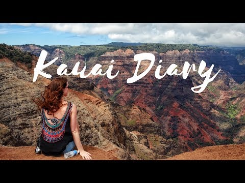 KAUAI TRAVEL VLOG | HAWAII ADVENTURE
