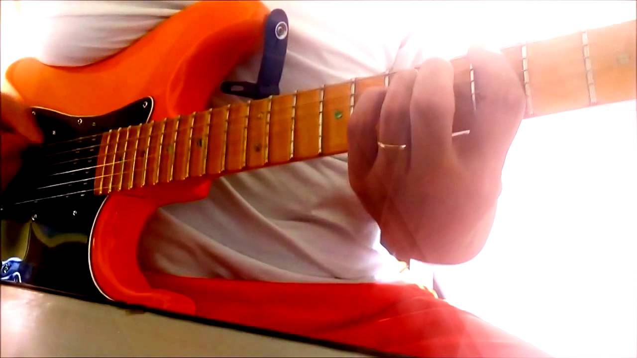 Robocop Gay Guitar Cover - Intro & Solo