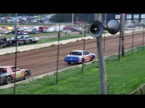 Kyle Deneen Hot Laps Bedford Speedway 7/26/19 Bedford County Fair Race
