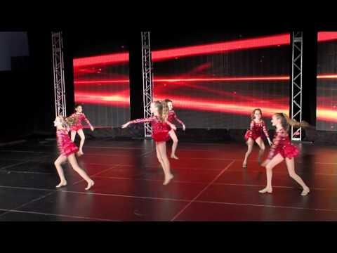 """""""Cha Cha Heels"""", jazz small group, Elevate Performing Arts Center, 2015"""