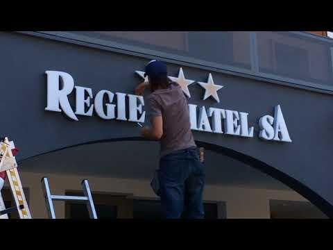 Signalétique Régie Châtel - Publicity Shop