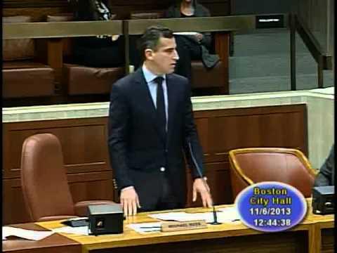 Boston City Council Meeting November 6, 2013