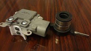 Реле регулятор и контактные кольца для генератора Ford