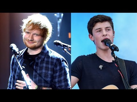 """Ed Sheeran SURPRISES Fans At Shawn Mendes Concert, Performs """"Mercy"""" Duet"""