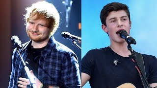 "Ed Sheeran SURPRISES Fans At Shawn Mendes Concert, Performs ""Mercy"" Duet"