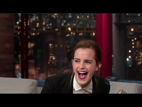 Emma Watson Interview - Late Night With David Letterman - 25th March, 2014