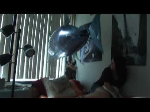 Flying shark prank freaks out college dorm girls!