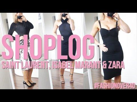 Fashion shoplog   Saint Laurent Isabel Marant Valentino Zara   Mrs. Beautyscene