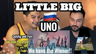 Singer Reacts| Little Big- UNO- Russia | Official Music Video Eurovision2020