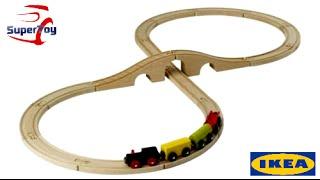 LILLABO: 20-piece basic Train Set, multicolor
