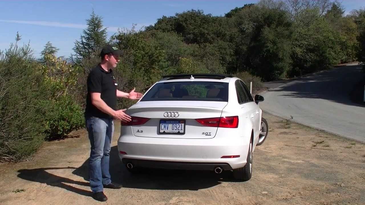 Real first impressions video 2015 audi a3 2 0t quattro made for america youtube