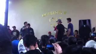 motores vs electronica liceo ceat 2016 batalla de gallos