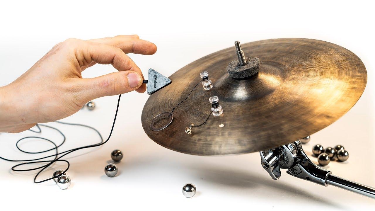 Sizzle Cymbal Soundcheck Marble Machine 73 Youtube