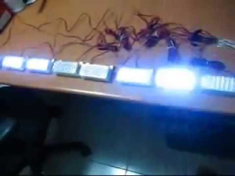 DIY 176 LED Strobe Light Set.wmv - YouTube Diy Emergency Lamps on diy air conditioners, diy led bulbs, diy speakers, diy tv, diy fan, diy emergency candles,