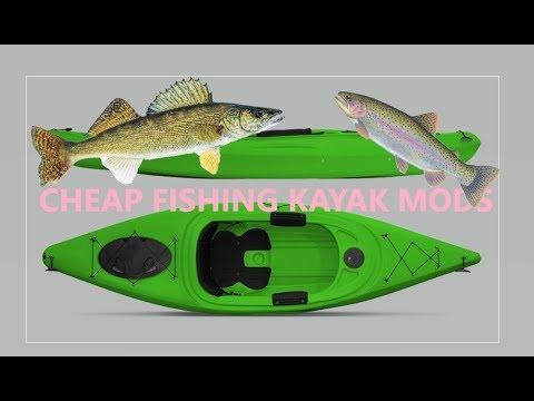CHEAP Poor Mans Fishing Kayak Mods