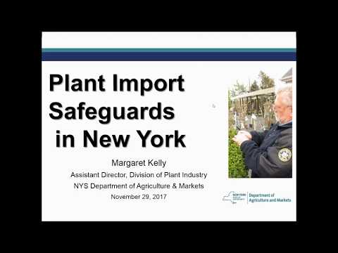 Plant Import Safeguards in New York (Nov 2017)