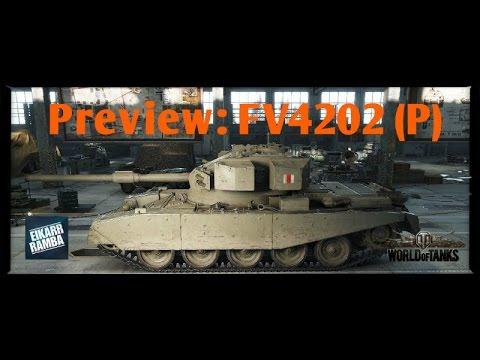 World of Tanks Preview | FV4202 (P) | Der Nachfolger-Premium vom Centurion AX [ Gameplay | Deutsch ]