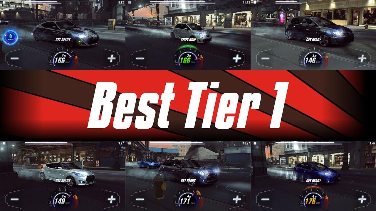 CSR2 Racing: Best Tier 1 car?! - All compared (no fusion parts)