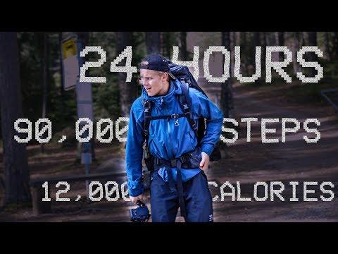 We tried WALKING 24 HOURS straight�� LONGEST HIKING TRAIL IN HELSINKI