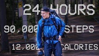 We tried WALKING 24 HOURS straight😵 LONGEST HIKING TRAIL IN HELSINKI