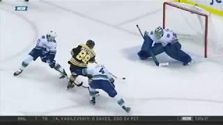 David Pastrnak end to end goal 10/19/17