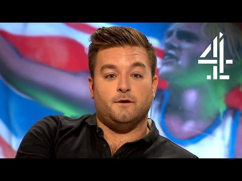 Alex Brooker's Impassioned Tribute To His Hero Alex Zanardi | The Last Leg