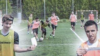 КТО КРАСИВЕЕ играет в футбол в АМКАЛЕ?! / EXILE и ОНЛАЙН ФУТБОЛ на просмотре!