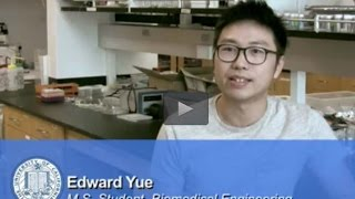 Edward Yue - Curious about how fluids behave on a micro scale