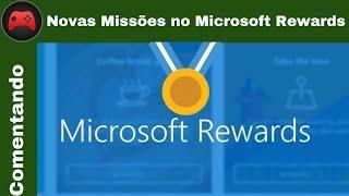 [Comentando] Novas Missões do Microsoft Rewards