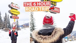 The 6 Hour EPIC Journey to Tim Hortons   Canada Vlog