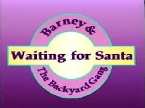 Barney: Waiting for Santa Custom Theme (Backyard Gang ...